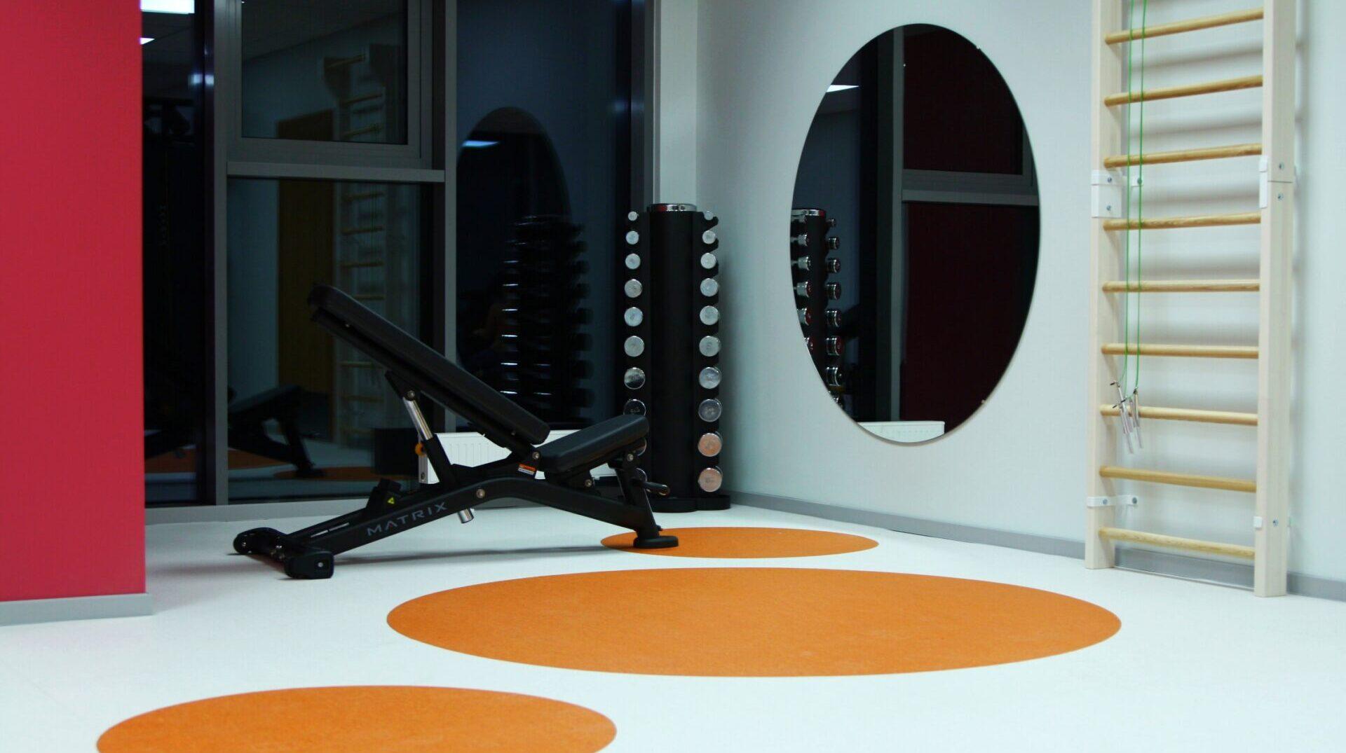 Tervisekeskus Corrigo füsioteraapia jõusaalis